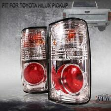 For Toyota Hilux MK3 LN85 1989-97 Pair Smoke Len Tail Lamp Rear Light Clear