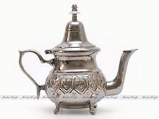 Authentic Moroccan Alpaca Silver Teapot - Moroccan Serving Tea Pot  16cm H