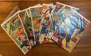 Action Comics #599 524 Weekly #601 602 606 Trial of Superman DC 1988 Comic Books