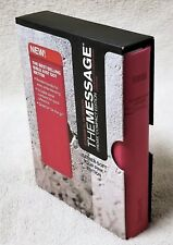 THE MESSAGE Bible REMIX COMPACT EDITION Navpress Pink Leatherette MINT in Sleeve
