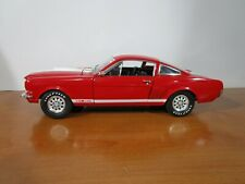 New ListingShelby Collectibles 1/18 Red 1966 Shelby Gt 350 Very Nice Used No Box *Read*