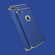 For Apple iPhone XS 8 7 6S 5S Luxury Ultrathin Shockproof Hybrid 360 Case Cover