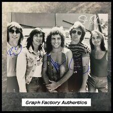 GFA x4 Neal Schon Rock Band * JOURNEY * Signed 11x14 Photo PROOF J2 COA