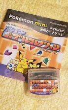 Nintendo Pokemon Mini Game - Puzzle Collection Cartridge (No Box Manual Only)
