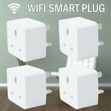 4pcs Wireless Smart Plug WiFi Sockets Power for Amazon Alexa Google Home IFTTT