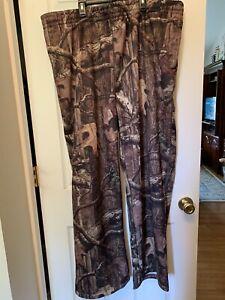 RedHead hunting fleece lined breakup infinity camo SzM3XLg pants