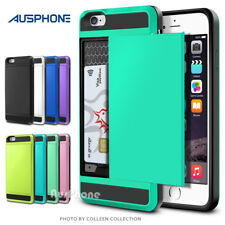 iPhone 6S 6 Plus Heavy Duty Slide Armor Hard Tough Case Cover for Apple