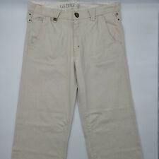G-Star Luke Pant WMN W27 L28 beige Damen Jeans Designer Denim Hose Vintage Retro