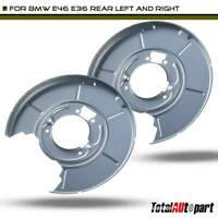 2x Brake Dust Shields for BMW E46 E36 E85 318i 323i 325Ci 328i Z4 RearLH & RH