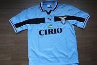 Lazio Jersey Shirt Puma 100% Original Size Men's L 1998/1999 Home Kit Rare