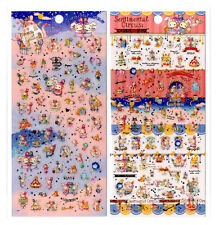 San-x Sentimental Circus Cafe Sticker Sheet stickers kawaii Japan LOT