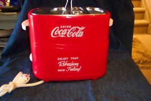 Red Coca Cola Hot Dogger Machine