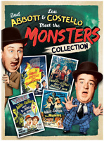 Abbott & Costello Meet the Monsters - Collection (DVD) • NEW • Halloween