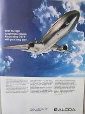 7/1973 PUB ALCOA ALUMINIUM 7475 PRECISION FORGING AEROSPACE INDUSTRY AD