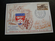 FRANCE - carte 12/5/1951 (bordeaux) (cy54) french