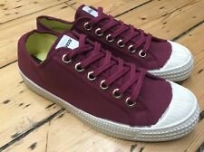 Novesta STAR MASTER tela WINE RED POMPE UK9 euro 43 US10