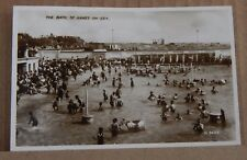 Postcard The Bath St Annes on Sea Real Photo posted 1938