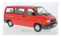 #180261 - KK-Scale VW T4 Caravelle - rot - 1992 - 1:18