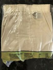 Vintage 70s Boxer Shorts 2 Pack NOS Cotton Kodel Polyester Blend Sz S 30-32 USA