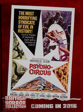 BRITISH HORROR COLLECTION - CIRCUS OF FEAR (PSYCHO-CIRCUS) - PREVIEW Card PR18