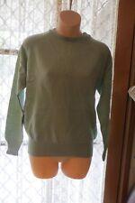 VINTAGE CLASSIC ~ Green Raglan Sleeve JUMPER/TOP  * Size M  *