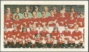 DAILY MIRROR 1971/72 STAR SOCCER SIDES-MIRRORCARD-#13-MANCHESTER UNITED TEAM