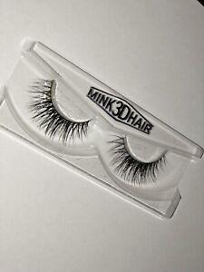 3D Mink Natural Thick False  Eyelashes hand made Lashes Extension (organic)