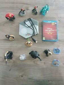 Lot Disney Infinity 3.0 sur Wii U avec 6 figurines + 6 pièces offertes