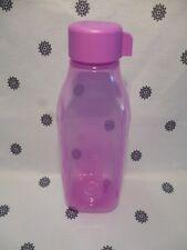 Tupperware 1L Square H20 On the Go Bottle Eco Purple New