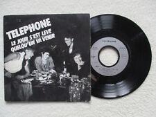"""45T 7"""" TELEPHONE """"Le jour s'est levé"""" VIRGIN 90231 FRANCE §"""