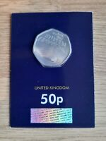 2019 Stephen Hawking 50p Coin in  Brilliant Uncirculated  Condition