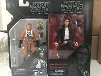 """Star Wars The Black Series 6"""" Archive Luke Skywalker X-Wing & Han Solo Bespin"""