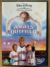 Angels in the Outfield DVD Walt Disney Baseball Film Movie w/ Christopher Lloyd
