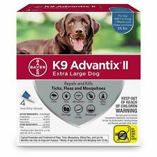 K9 ADVANTIX 2 FOR EXTRA-LARGE DOG ( 4 MONTH SUPPLY ) OVER 55 LBS