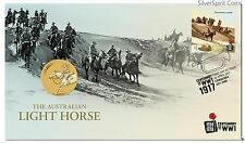 2017 LIGHT HORSE Stamp & Coin Cover PNC