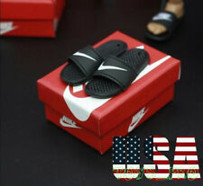 """1/6 Scale Slides Sandals Slippers Nike Shoes For Hot Toys Phicen 12"""" figure❶USA❶"""