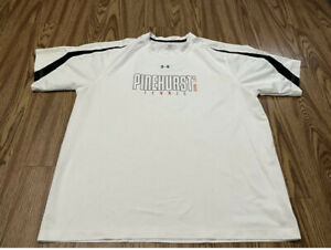 MEN UNDER ARMOUR Heatgear CrossFit XL White  SHIRT Good Condition