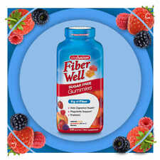 vitafusion Fiber Well Sugar Free, 220 Gummies New!  Free Shipping!