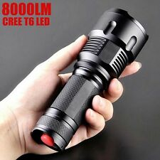 Military Grade 8000LM CREE T6 Torch LED Tactical Flashlight Waterpoof X7 Style