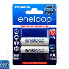 2 X Panasonic Eneloop AA Baterías 1900 mAh recargable ni-mh ACCU LR06 BK -3 MCCE