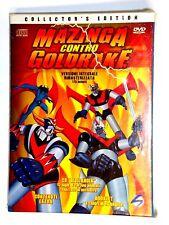 MAZINGA CONTRO GOLDRAKE COLLECTION NUOVO DVD + CD
