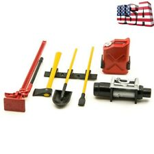 6Pcs Plastic Accessories Tools Set For 1:10 SCX10 D90 RC Rock Car Crawler Truck