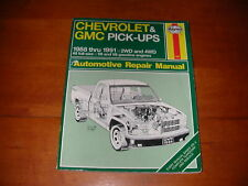 1988 91 SILVERADO CHEVROLET GMC PICK UPS FULL SIZE HAYNES SERVICE REPAIR MANUAL