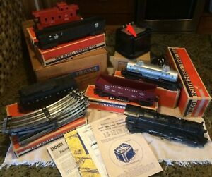 """Lionel #1503WS """"The Overlander"""" Set w/ original boxes AND SET BOX!  MUST S33!"""