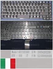Qwerty Keyboard Italian PACKARD BELL RHEA IT ROHS K011818B8 531080490009 Black