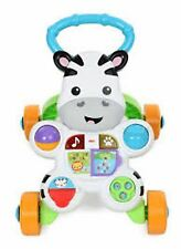 Fisher Price FISHER-PRICE ZEBRA WALKER Push Pull Along Toy BN