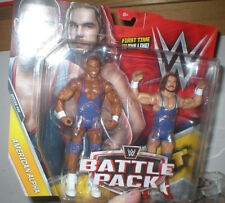 WWE AMERICAN ALPHA BATTLE PACK- CHAD GABLE & JASON JORDAN, 1ST TIME IN LINE