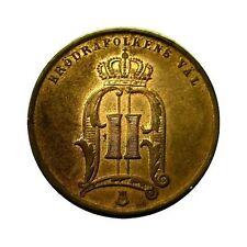 elf Sweden 5 Ore 1876 Oscar Ii