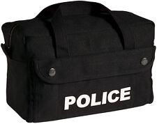 Black Police Tactical Equipment Bag