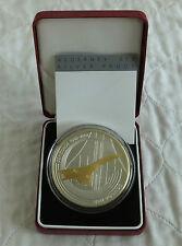 ALDERNEY 2003 £10 CONCORDE 5oz SILVER PROOF - boxed/coa